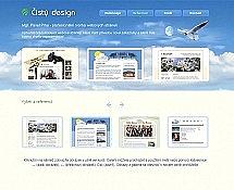 dřívější design tohoto webu