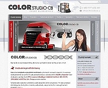 """<a href=""""http://www.colorstudiocb.cz"""">www.colorstudiocb.cz</a>, základní šablona"""